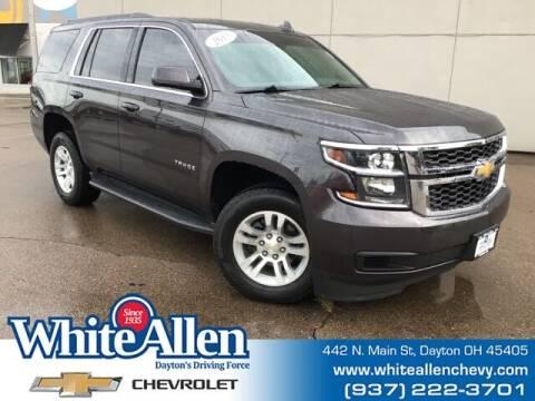 2015 Chevrolet Tahoe for sale at WHITE-ALLEN CHEVROLET in Dayton OH