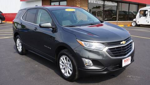2020 Chevrolet Equinox for sale at Ricks Auto Sales, Inc. in Kenton OH