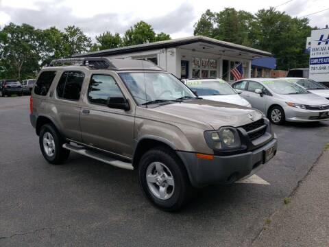 2004 Nissan Xterra for sale at Highlands Auto Gallery in Braintree MA