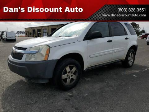 2005 Chevrolet Equinox for sale at Dan's Discount Auto in Gaston SC