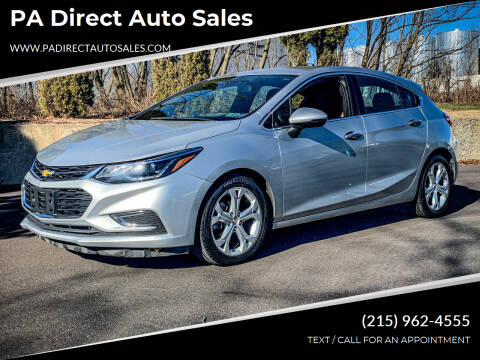 2017 Chevrolet Cruze for sale at PA Direct Auto Sales in Levittown PA