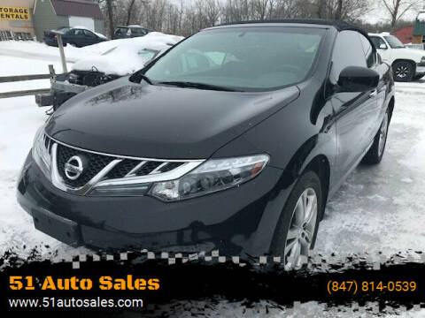 2011 Nissan Murano CrossCabriolet for sale at 51 Auto Sales Ltd in Portage WI