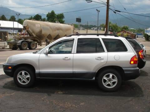 2003 Hyundai Santa Fe for sale at Frontier Motors Ltd in Colorado Springs CO