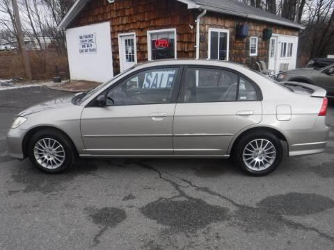 2005 Honda Civic for sale at Trade Zone Auto Sales in Hampton NJ