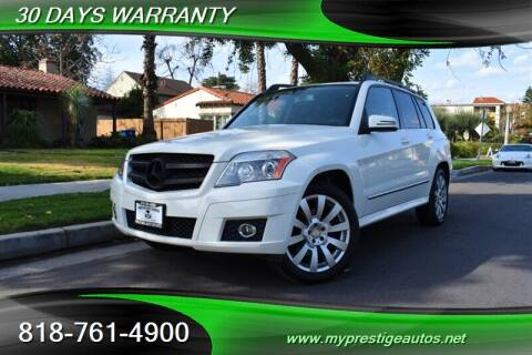 2011 Mercedes-Benz GLK for sale at Prestige Auto Sports Inc in North Hollywood CA