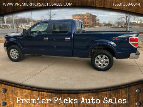 2010 Ford F-150 for sale at Premier Picks Auto Sales in Bettendorf IA