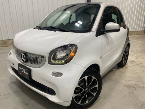 2016 Smart fortwo for sale at EUROPEAN AUTOHAUS, LLC in Holland MI