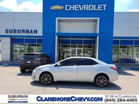 2016 Toyota Corolla for sale at Suburban Chevrolet in Claremore OK