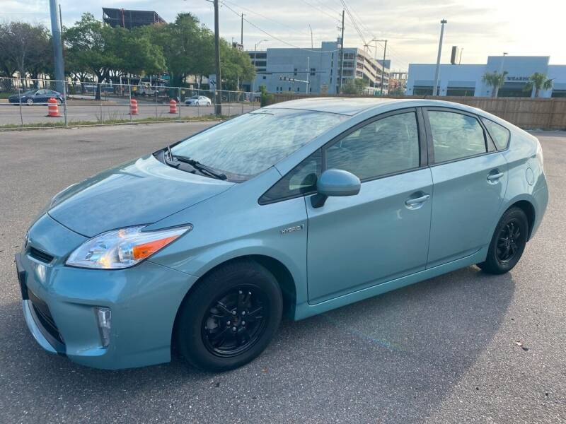 2015 Toyota Prius for sale at Florida Coach Trader Inc in Tampa FL