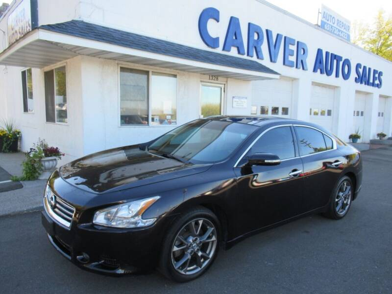 2013 Nissan Maxima for sale at Carver Auto Sales in Saint Paul MN