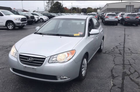 2008 Hyundai Elantra for sale at New England Motor Cars in Springfield MA