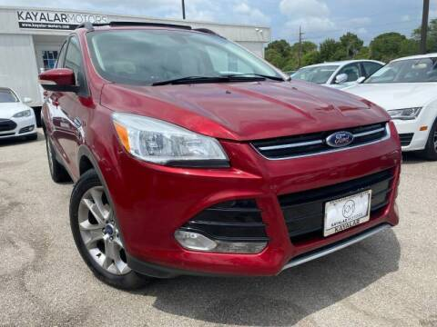 2013 Ford Escape for sale at KAYALAR MOTORS Mechanic in Houston TX