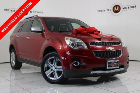 2015 Chevrolet Equinox for sale at INDY'S UNLIMITED MOTORS - UNLIMITED MOTORS in Westfield IN