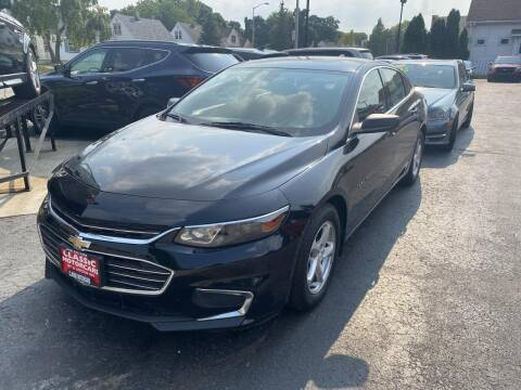 2016 Chevrolet Malibu for sale at CLASSIC MOTOR CARS in West Allis WI