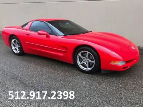 2003 Chevrolet Corvette for sale at Austin Elite Motors in Austin TX
