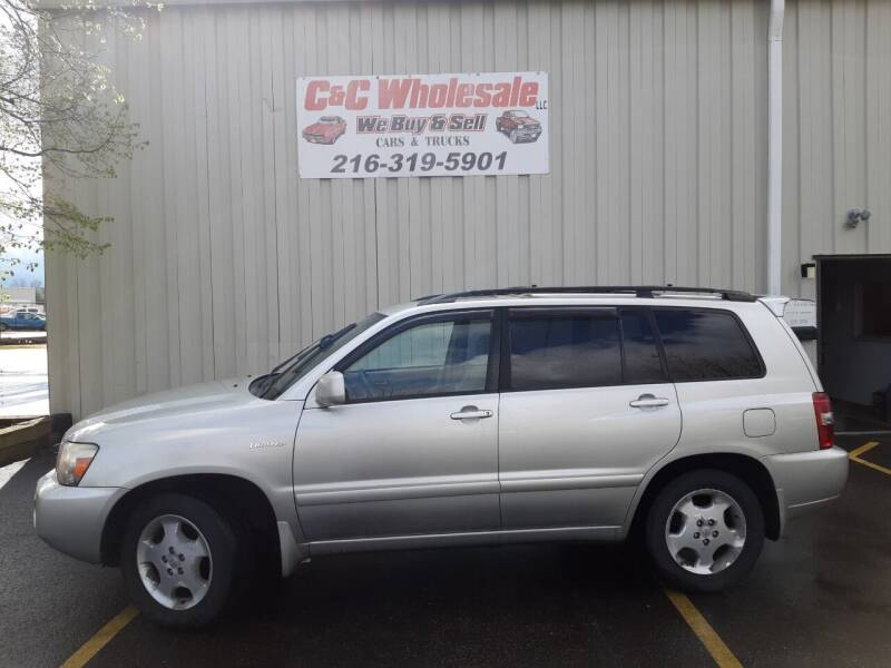 2004 Toyota Highlander for sale at C & C Wholesale in Cleveland OH