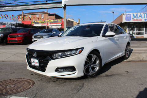 2018 Honda Accord for sale at MIKEY AUTO INC in Hollis NY