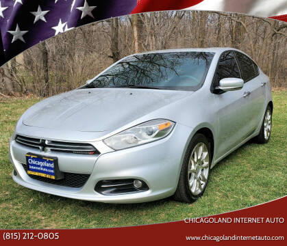 2013 Dodge Dart for sale at Chicagoland Internet Auto - 410 N Vine St New Lenox IL, 60451 in New Lenox IL