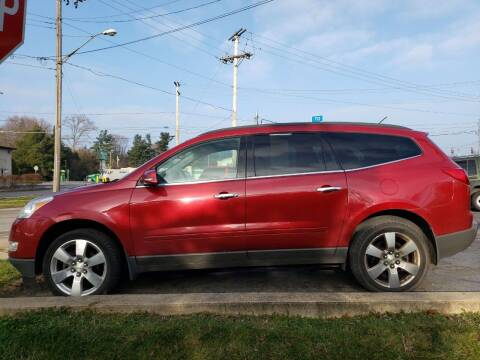 2012 Chevrolet Traverse for sale at COLONIAL AUTO SALES in North Lima OH