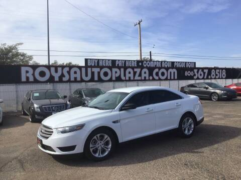 2016 Ford Taurus for sale at Roy's Auto Plaza 2 in Amarillo TX