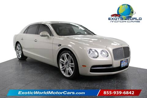 2016 Bentley Flying Spur for sale at Exotic World Motor Cars in Addison TX