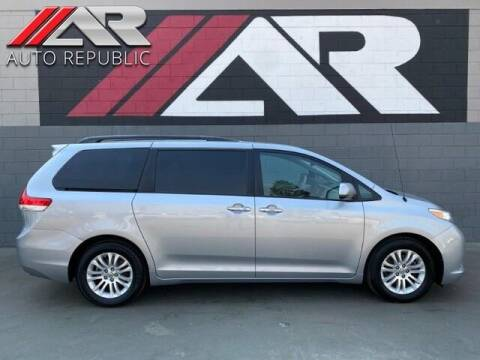 2014 Toyota Sienna for sale at Auto Republic Fullerton in Fullerton CA