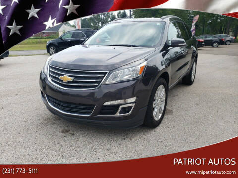 2013 Chevrolet Traverse for sale at Patriot Autos in Muskegon MI