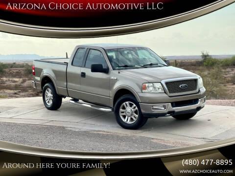 2004 Ford F-150 for sale at Arizona Choice Automotive LLC in Mesa AZ