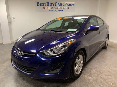 2014 Hyundai Elantra for sale at Best Buy Car Co in Independence MO