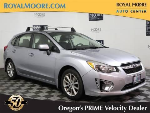 2013 Subaru Impreza for sale at Royal Moore Custom Finance in Hillsboro OR
