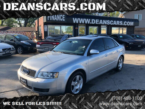 2004 Audi A4 for sale at DEANSCARS.COM in Bridgeview IL
