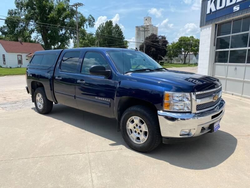 2012 Chevrolet Silverado 1500 for sale at Kobza Motors Inc. in David City NE