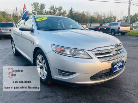 2010 Ford Taurus for sale at Transportation Center Of Western New York in Niagara Falls NY