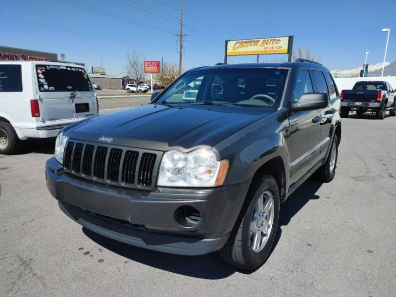 2005 Jeep Grand Cherokee for sale at Canyon Auto Sales in Orem UT