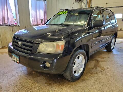 2007 Toyota Highlander for sale at Sand's Auto Sales in Cambridge MN