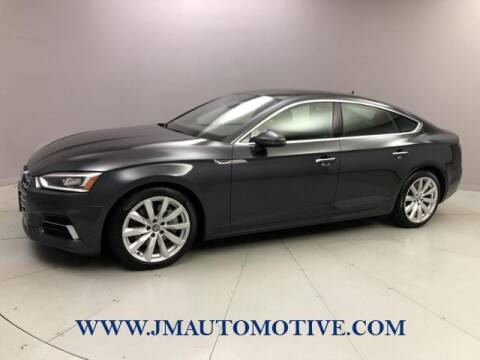 2018 Audi A5 Sportback for sale at J & M Automotive in Naugatuck CT