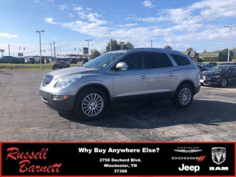 2008 Buick Enclave for sale at Russell Barnett Chrysler Dodge Jeep Ram in Winchester TN