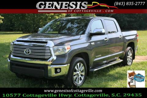 2017 Toyota Tundra for sale at Genesis Of Cottageville in Cottageville SC