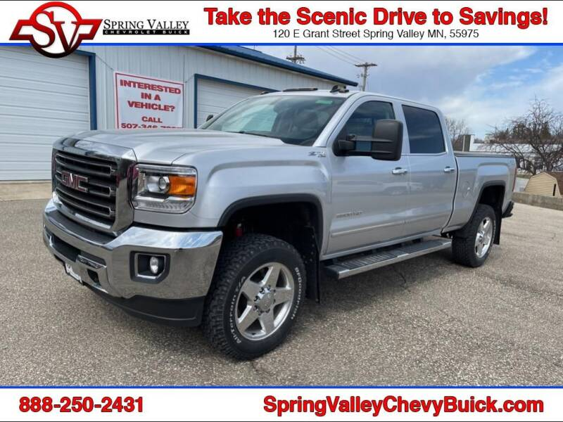 2015 GMC Sierra 2500HD for sale at Spring Valley Chevrolet Buick in Spring Valley MN