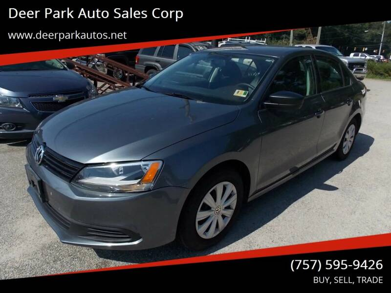 2014 Volkswagen Jetta for sale at Deer Park Auto Sales Corp in Newport News VA
