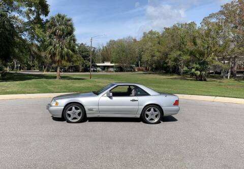 1997 Mercedes-Benz SL-Class for sale at P J'S AUTO WORLD-CLASSICS in Clearwater FL
