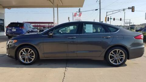 2020 Ford Fusion for sale at S & S Sports and Imports in Newton KS