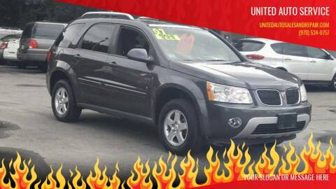 2007 Pontiac Torrent for sale at United Auto Service in Leominster MA