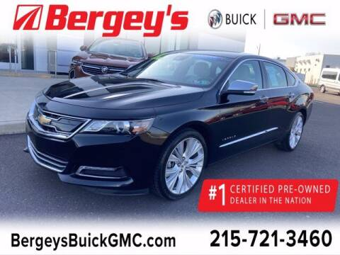 2017 Chevrolet Impala for sale at Bergey's Buick GMC in Souderton PA