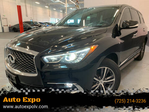 2018 Infiniti QX60 for sale at Auto Expo in Las Vegas NV
