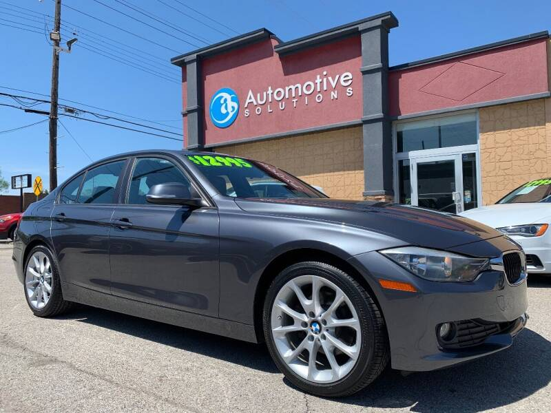 2013 BMW 3 Series for sale at Automotive Solutions in Louisville KY