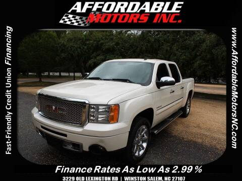 2013 GMC Sierra 1500 for sale at AFFORDABLE MOTORS INC in Winston Salem NC