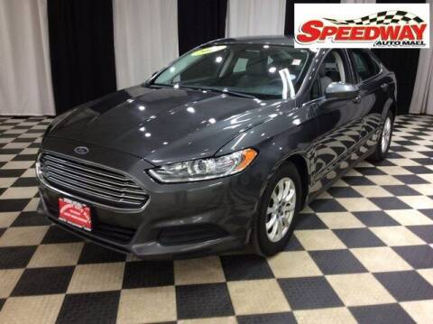 2016 Ford Fusion for sale at SPEEDWAY AUTO MALL INC in Machesney Park IL