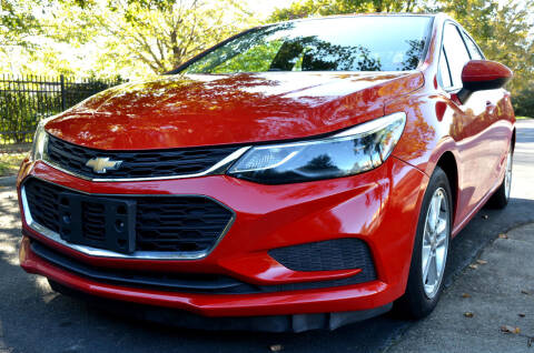 2016 Chevrolet Cruze for sale at Wheel Deal Auto Sales LLC in Norfolk VA