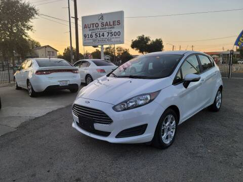 2015 Ford Fiesta for sale at A1 Auto Sales in Sacramento CA